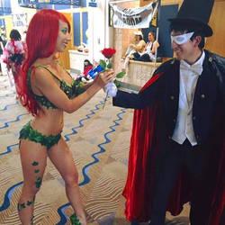 Tuxedo Mask Meets Poison Ivy by JoelXero