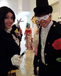 Tuxedo Mask Meets Zatanna by JoelXero