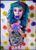 Flower vomit by Cassiasparkle