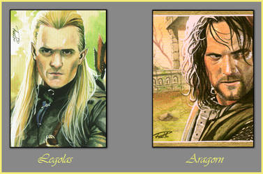 Lord of The Rings-Cards01 by RodGallery