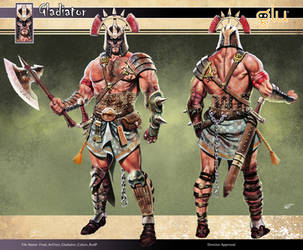 Gladiator Concept Art by RodGallery
