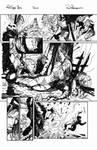 Red Sonja e Thor Sample Ink Pg01