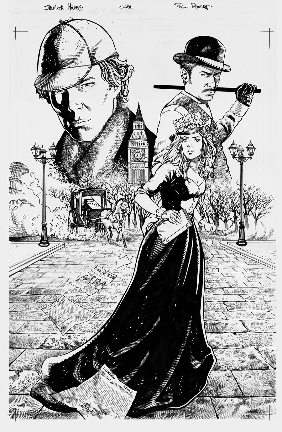 Sherlock Holmes Pin Up By RodGallery On DeviantArt
