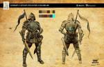 Edge of Twilight - Athern Captain Infantry