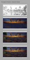 The legend Of King Nal- Concept Art Tutorial 01