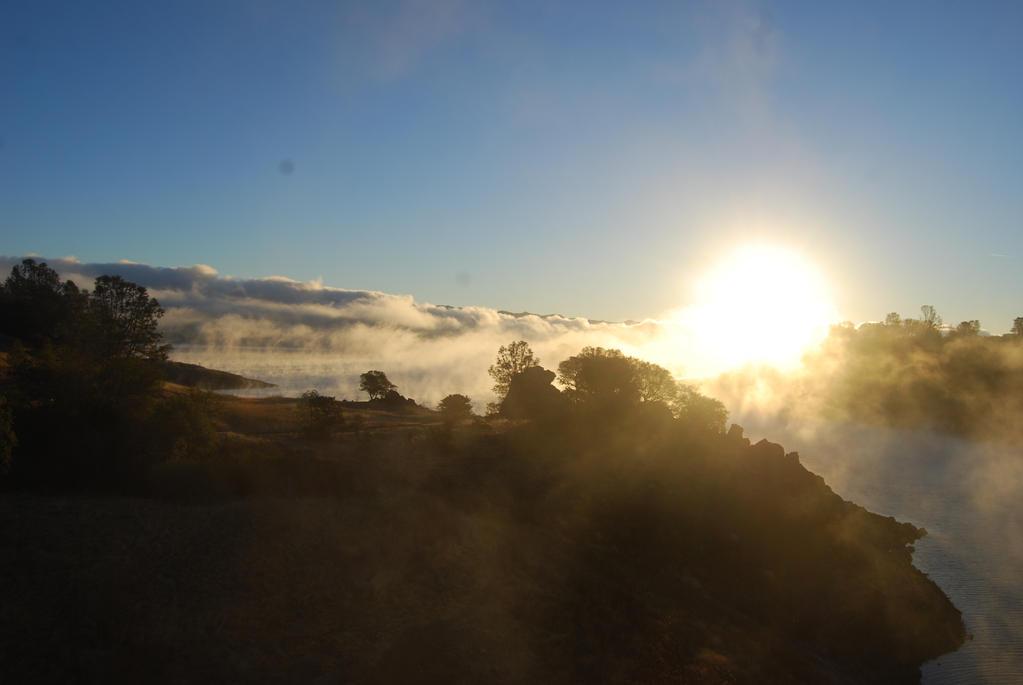 Sunrise Over Lake 2 by xxtgxxstock