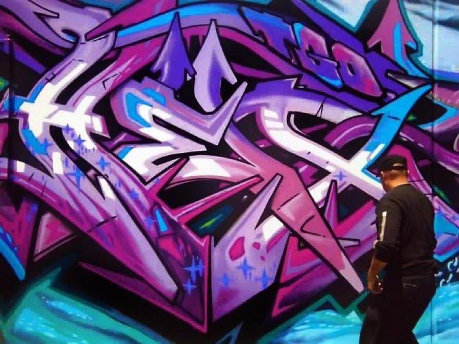 Graffiti Art Letter d Rain 39 Graffiti Art Letters
