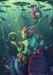 Skin Nami river spirit - League of legends