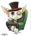 Gnar Gentleman - Fanart League of Legends