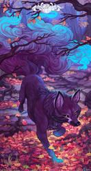 Blue Fox by o0dzaka0o