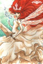 Fanart - Child of Light - Aurora by o0dzaka0o