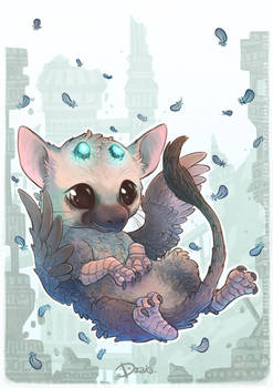 Trico Chibi - Fanart The Last Guardian