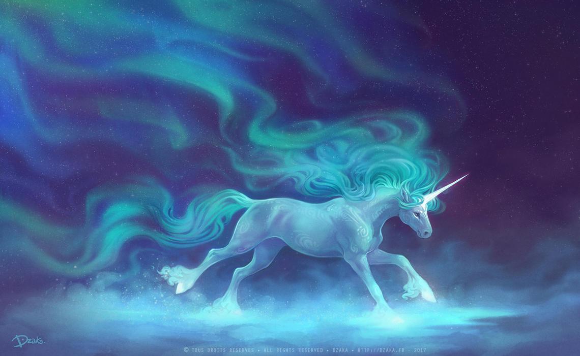 Xmas Unicorn by o0dzaka0o