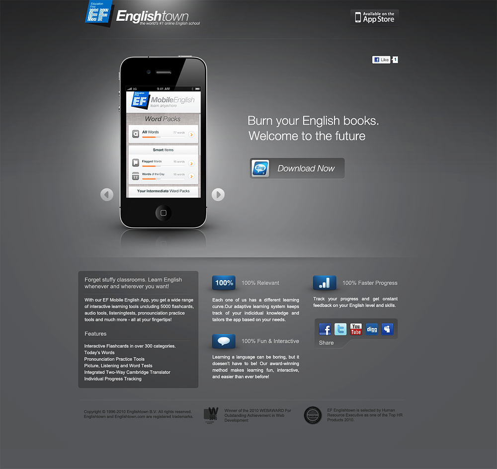 EF Mobile English by xyphid