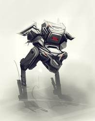 Sunday robot sketch