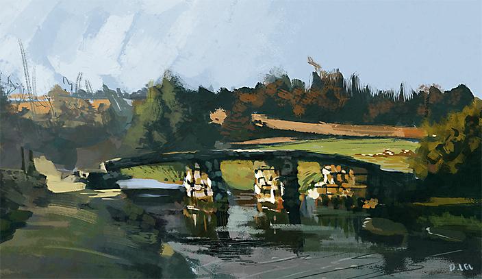 Landscape study 02 by xyphid