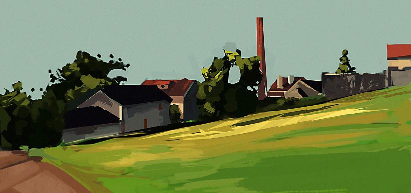 Landscape Study 03 by xyphid