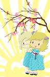 USUK - Nyotalia Kimono