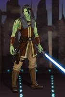 Demien Ulnyeras, Jedi by issuesmissflight