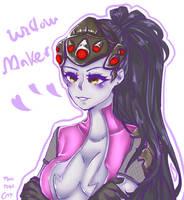 Overwatch Widowmaker by sheepgil