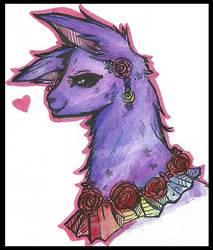 My mascot: Kulli Llama