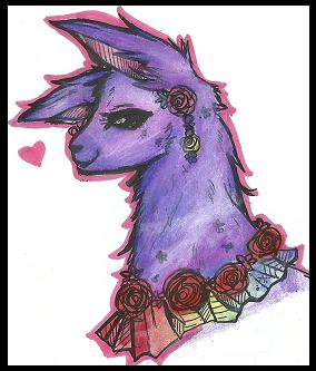 Icon: Kulli Llama by LaReina-QuyaKoroleva