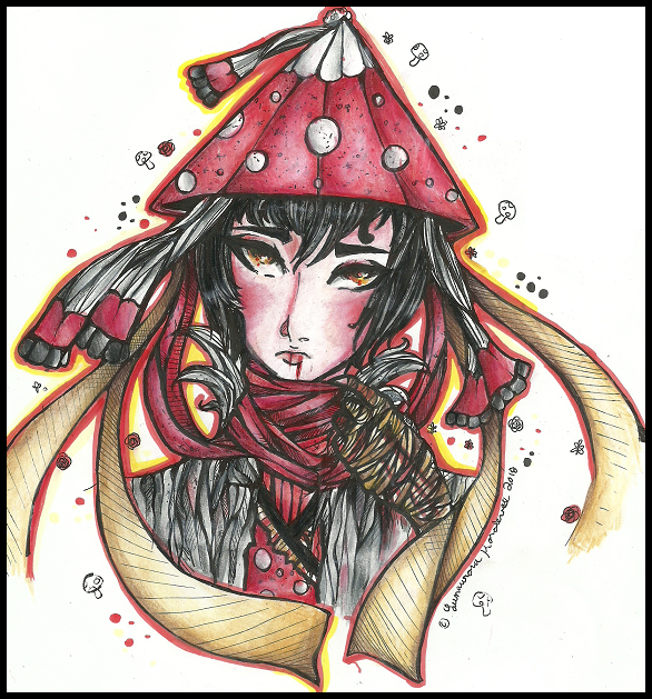 ToNE:  I'm Not Your Momotaro  (Amanita) by QuyaKillaLuna