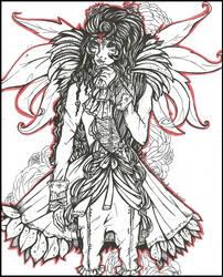 |Les Fleurs du Mal| (ToNE: Amaryllis inked)
