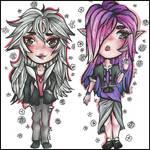 C: Silva + Rhea (for KriSilvane) by Lady-Rococo