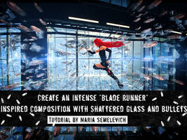 Create an artwork Blade Runner in Photoshop by MariaSemelevich
