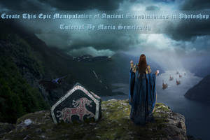 Create manipulation of Ancient Scandinavians by MariaSemelevich