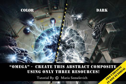 Create a creative photomanipulation Omega