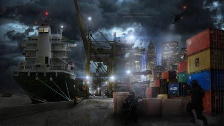 Loading Bay by MariaSemelevich