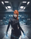 Cyber Tesla by MariaSemelevich