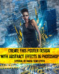 Create Poster Design with Abstract Effects