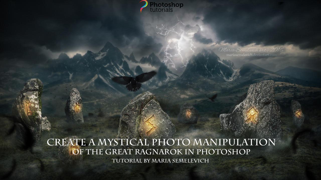 Photography and photomanipulation tutorials on tutorials etc jayanam 10 3 create a mystical manipulation of great ragnarok by mariasemelevich baditri Choice Image