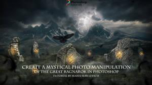Create a Mystical Manipulation of Great Ragnarok by MariaSemelevich
