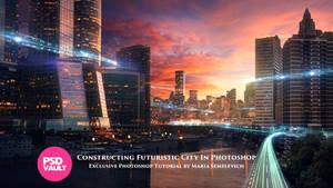 Exclusive Tutorial - Constructing Futuristic City