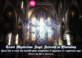 Create Mysterious Angel Artwork in Photoshop by MariaSemelevich