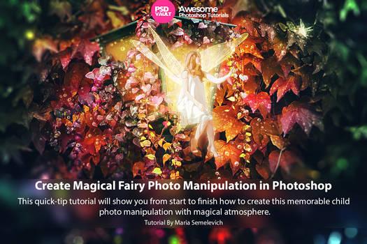 Create Magical Fairy Photo Manipulation