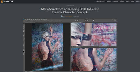Blending Skills To Create Realistic Character