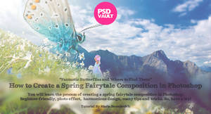 Create a Spring Fairytale Composition in Photoshop