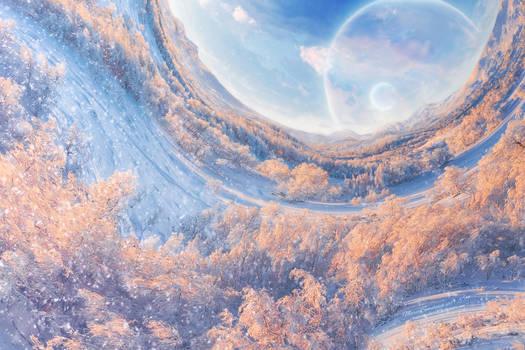 Winter somewhere in a galaxy far far away