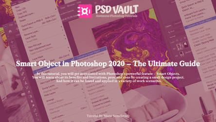 Smart Object in Photoshop 2020 The Ultimate Guide by MariaSemelevich