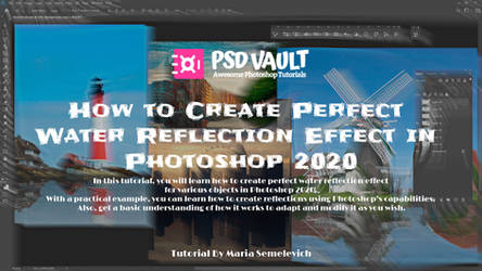 How to Create Perfect Water Reflection Effect by MariaSemelevich