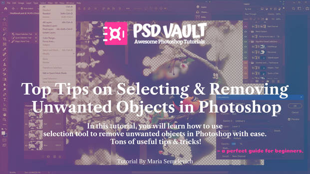 Tips on Selecting or Removing Objects in Photoshop