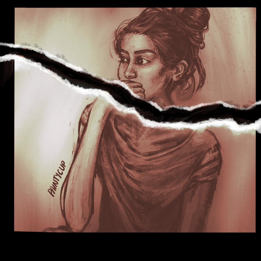 Photo edit of value study by painty-teacup