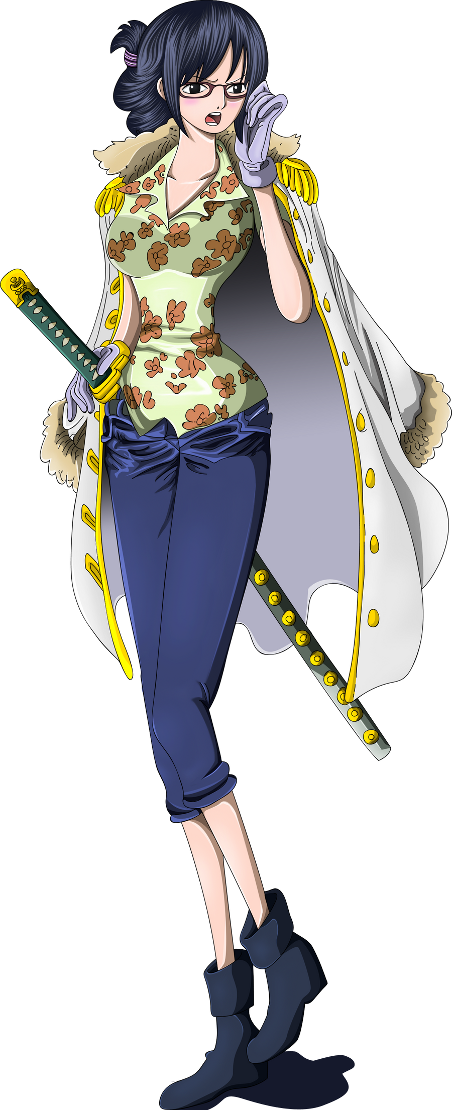 One Piece Tashigi