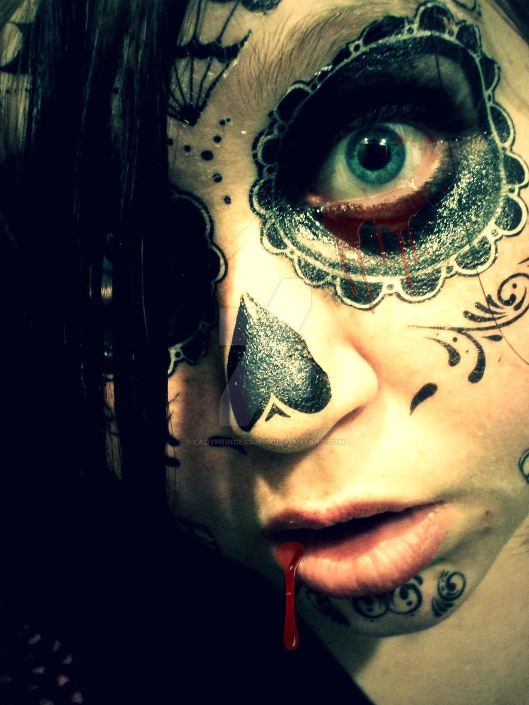 Sugar Skull by LadyPrincessJess