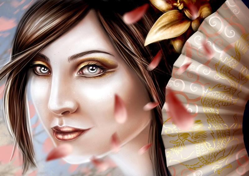 Geisha by Cristle-Drake